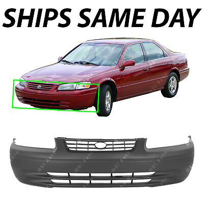 NEW Primered - Front Bumper Cover Fascia Replacement for 1997-1999 Toyota Camry
