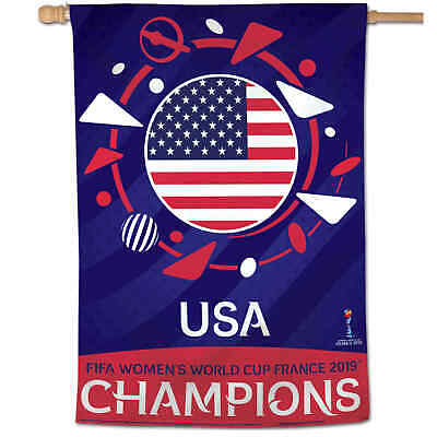 US Womens Soccer World Cup Champions Banner