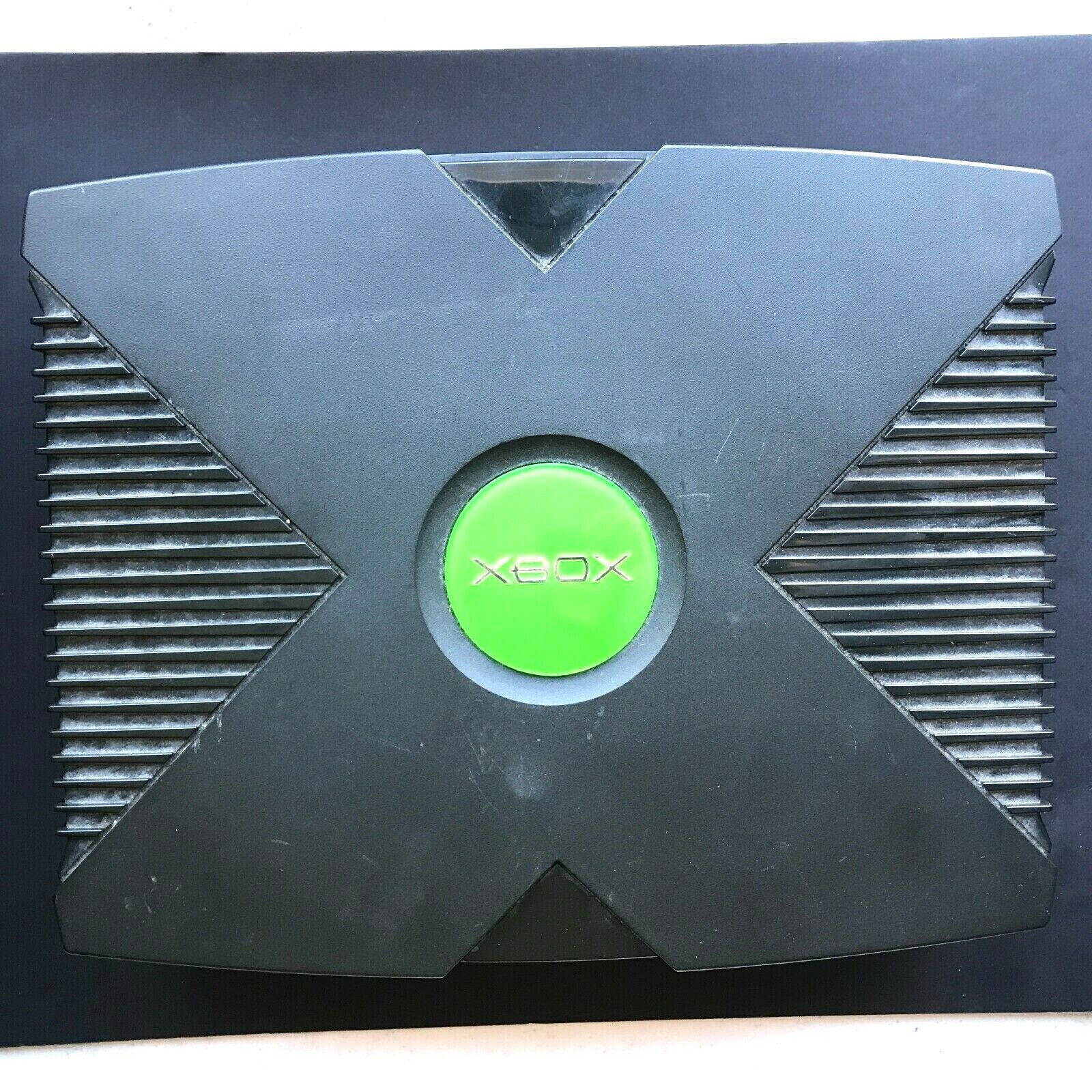 Microsoft Xbox Black *MODED Console Only Tested/Working #45