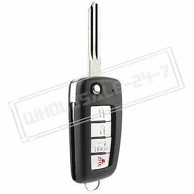 Replacement For 2004 2005 2006 2007 Infiniti QX56 QX 56 Flip Key Remote
