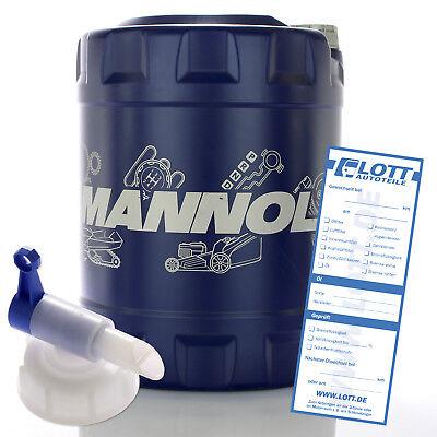 20L Mannol Motoröl Energy Premium 5W-30 Öl + Hahn für BMW / MERCEDES / OPEL / VW
