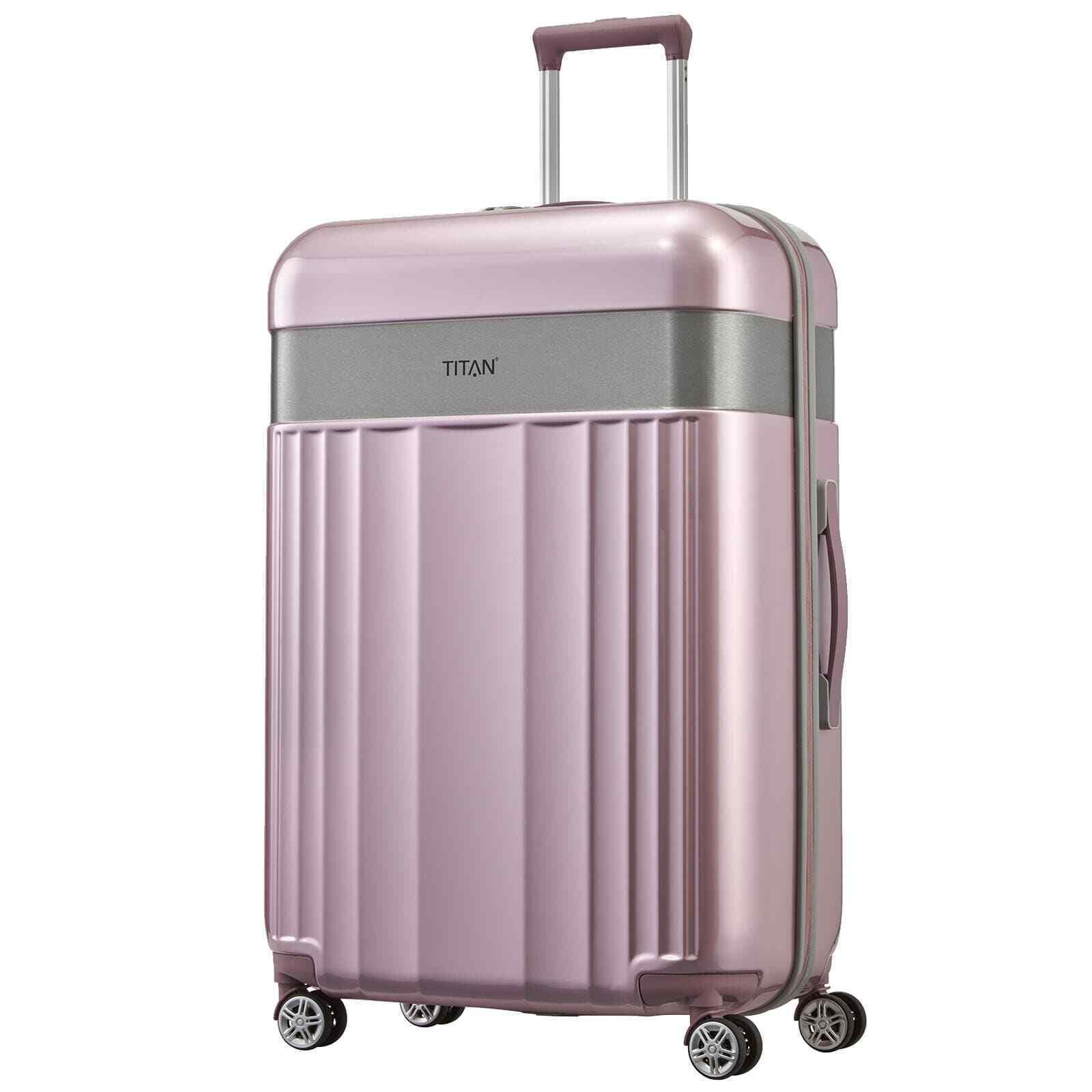 TITAN SPOTLIGHT FLASH 76cm Wild-Rose Pink Reisekoffer Hartschalengepäck 4 Rad