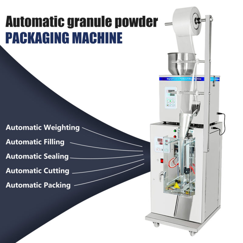 110V Automatic Weighing And Packing Filling Particles & Powder Machine new!