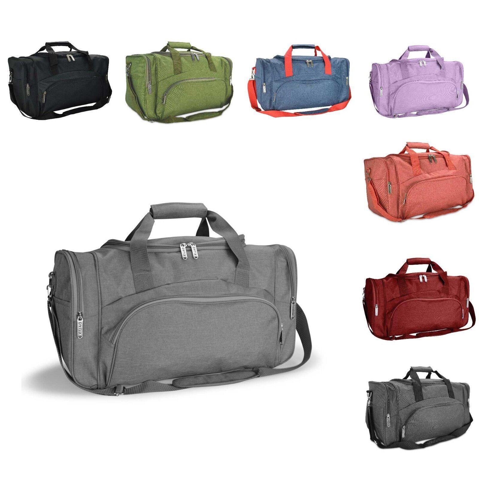 DALIX Signature Travel or Gym Duffle Bag