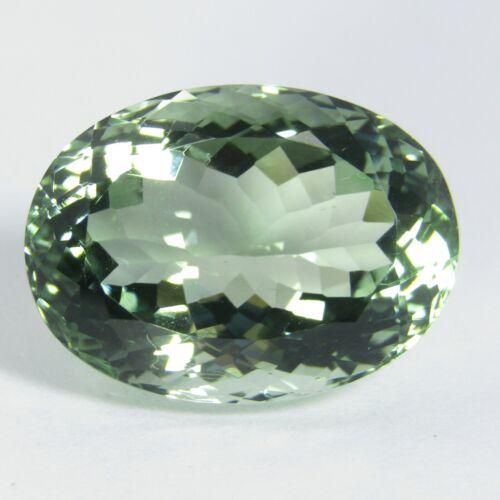 16.08Cts Excellent Natural Green Amethyst prasiolite Oval Shape Loose Gem VDO