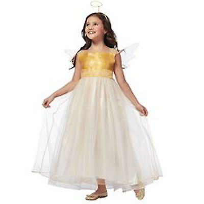 Target Girls Youth Child 3 Piece Angel Princess Halloween Dress Up Costume, - Target Girls Halloween Costumes