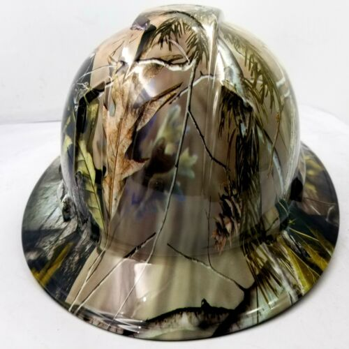 Hard Hat Full Brim Custom hydro dipped NEW REALTREE APG CAMO NEW best price 3