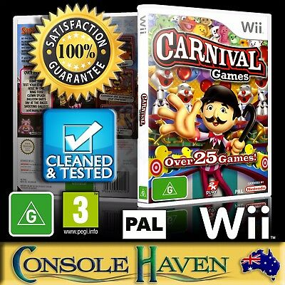 (Wii Game) Carnival Games / Funfair Games / Fun Fair (G) (Family / Kids) PAL ()
