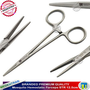 Mosquito Forceps Hemostat Haemostatic Clamp Tweezers Artery Surgical Tools New