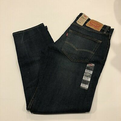 Levi's 502 Regular Taper Fit Stretch Sz. 34X32 Men's Blue Jeans NWT Rose Finch