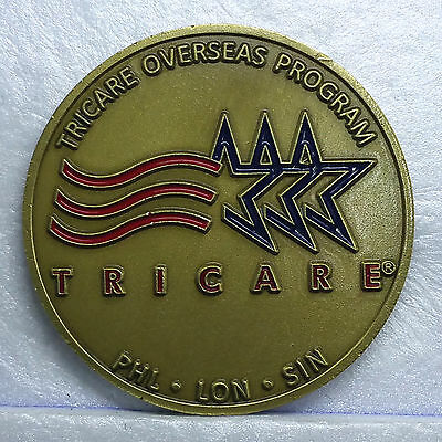 Us Dod Tricare Overseas Program International Sos   Challenge Coin