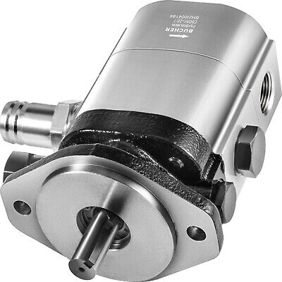 Vevor 2-stage Log Splitter Pump 28gpm Hydraulic Gear Pump 58 Crankshaft 2-hole