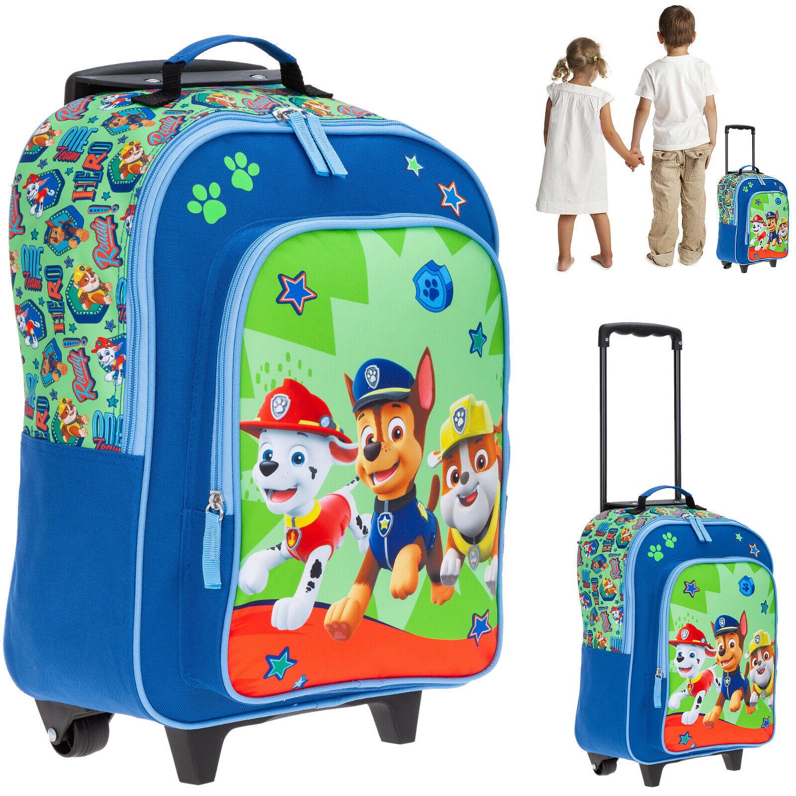 Kinderkoffer Paw Patrol Kindertrolley Spielkoffer Jungen Mädchen 20579 0600 Grün