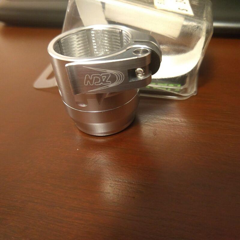 Brand New - NDZ New Designz Intimidator Paintball Feedneck - Gloss Silver