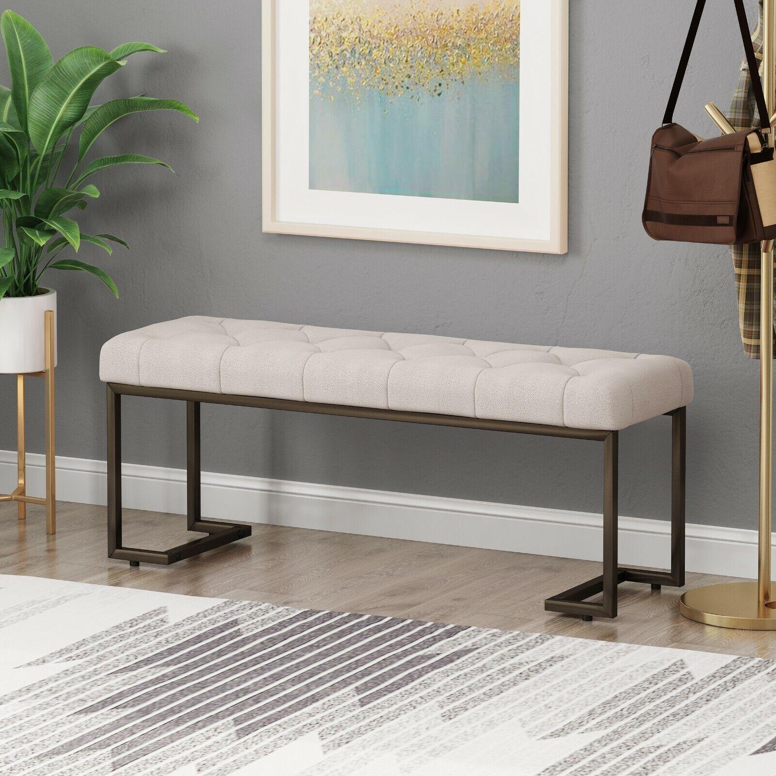 Gladys Modern Fabric Bench Benches, Stools & Bar Stools