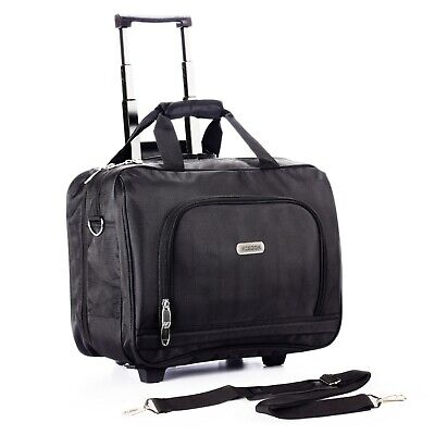 Rolling Briefcase on 2 Wheels Rolling Laptop Bag Rolling -