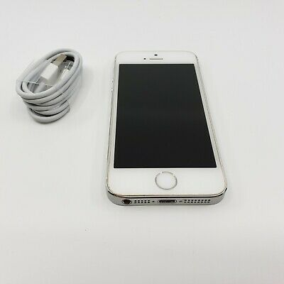  Apple iPhone 5s - 16GB - Silver (Unlocked) A1453 (CDMA + GSM)