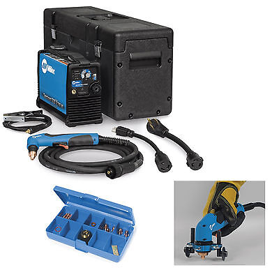 Miller Spectrum 625 X-treme Plasma Cutter W20 Torch 907579001 And Accessories