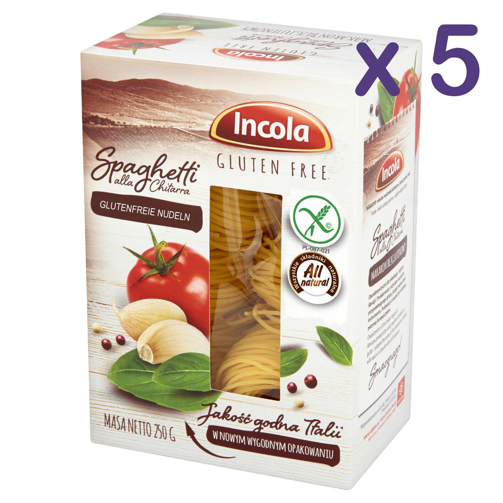 (11,92€/kg) GLUTENFREI Nudeln SPAGHETTI 1,25kg glutenfreie Pasta Weizenmehlfrei