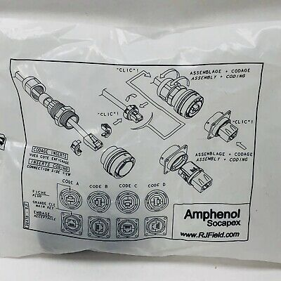 Genuine Amphenol Socapex 30470-rjf Connector Rjf 6m G 18-19