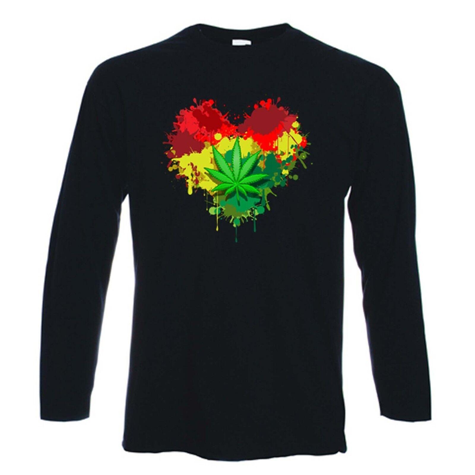 GANJA BOB I Kids Boys T-Shirt Jamaica Marley Hemp Reggae Wailers