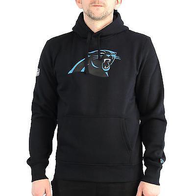New Era NFL Team Logo Carolina Panthers Hoodie Herren, Farbe schwarz, 31678 ()