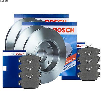 Bosch Bremsscheiben und Bremsbeläge mit Wkt BMW 3er F30//F31 und 4er F32  hinten