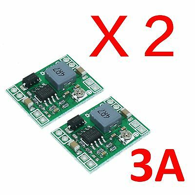 2 Pieces 3a Dc-dc Adjustable Converter Step Down Power Supply Replace Ni Lm2596s