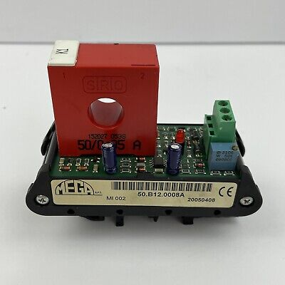Sirio Current Transformer Ta 152027 500.05 50a 5060hz Rail Mount Good Used