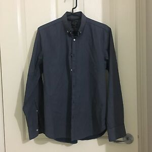 INDUSTRIE blue collar shirt | Small Deer Park Brimbank Area Preview