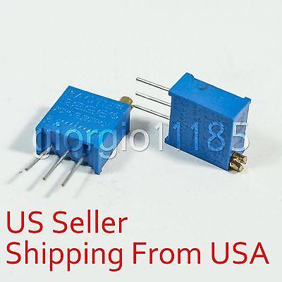 10 pcs 100K ohm 3296 3296W Trim Pot Trimmer Potentiometer Variable Resistors