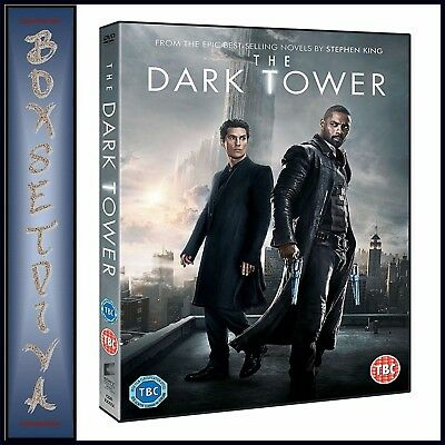 The Dark Tower   Idris Elba   Matthew Mcconaughey  Brand New Dvd
