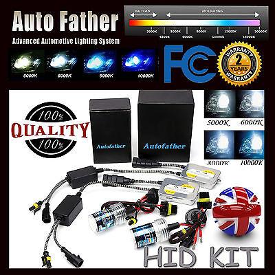 55W HID Xenon Conversion KIT Headlights Bulbs Ballast Car Lights H7 Super Bright