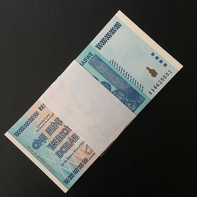 P-43 2006 Zimbabwe 500 Dollars banknotes Lot Pack Full Bundle 100 PCS UNC