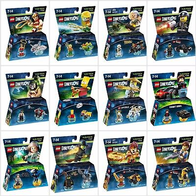 LEGO DIMENSIONS: FUN PACK - PS3 PS4 XBOX 360 XBOX ONE WII U - NEW & SEALED