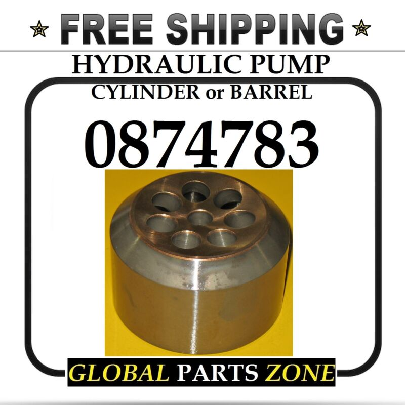 HYDRAULIC PUMP BARREL CYLINDER for Caterpillar 0874783 087-4783 FREE DELIVERY!!!