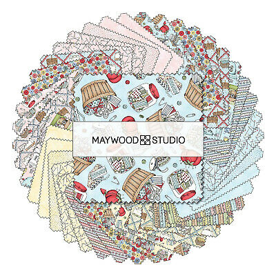 Measure Twice Charm Pack From Maywood Studio - (42) 5