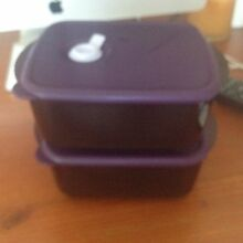 Heat and Eat Vent Tupperware Containers X 2 Salamander Bay Port Stephens Area Preview