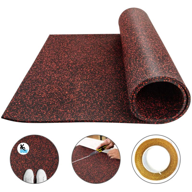 Rubber Flooring Mats Rolls for Floor Car Gym Garage Matting Roll 3.6