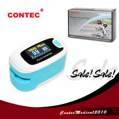 Fda Finger Tip Pulse Oximeter Blood Oxygen Heart Rate Monitor Spo2 Pr Oled Na