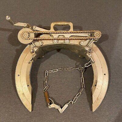 Mathey Dearman Pipe Beveling Machine Manual Saddle Beveler 6-12 2sa