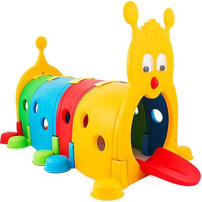 Kids Play Tunnel Outdoor Indoor Caterpillar Daycare Toddler Playground Equipment Kids Indoor Playground