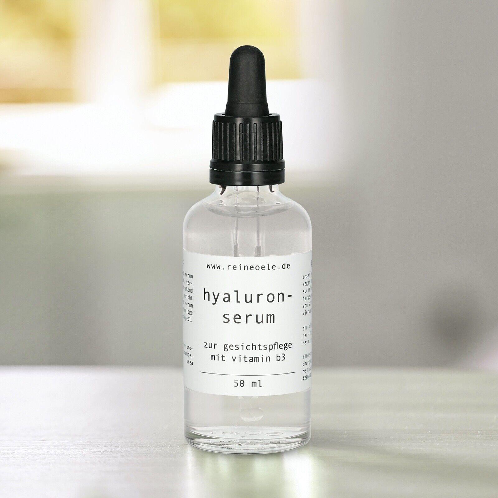 Hyaluron Serum hochdosiert / Hyaluronsäure / Anti Aging Serum / Anti Faltenserum