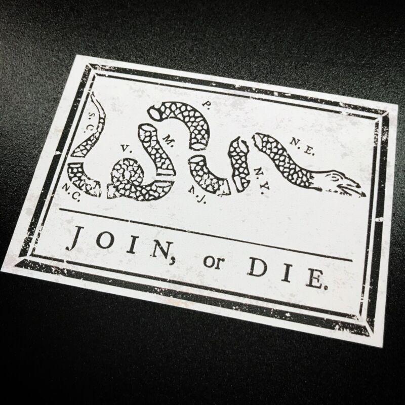 Join or Die - Sticker