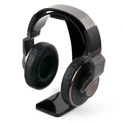 Plastic Headphone Desk Stand For The Ultrasone Edition M Black Pearl segunda mano  Embacar hacia Spain