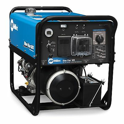 Miller Blue Star 185 Dx Weldergenerator With Gfci Receptacles 907664