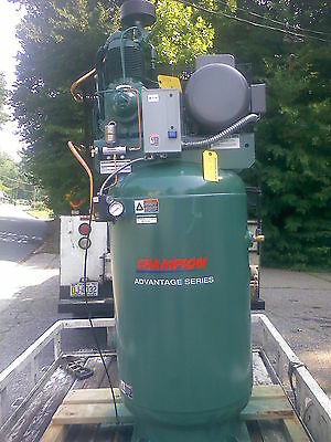 New 7.5 hp Champion Advantage series industrial duty air compressor
