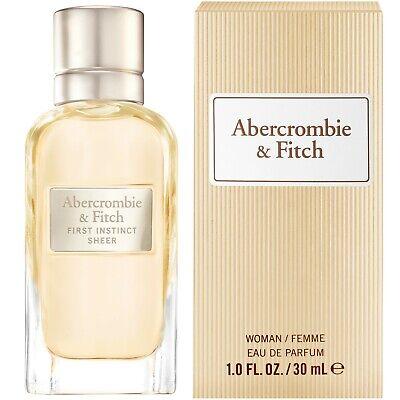 ⭐️⭐️⭐️⭐️⭐️ Abercrombie & Fitch First Instinct Sheer For Her Eau De Parfum 1.0 oz