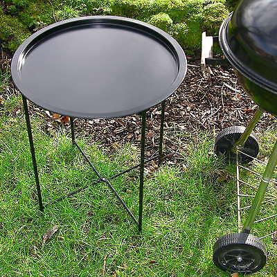 Grill-Beistelltisch, Grilltisch KLAPPBAR, Garten Tisch Klapptisch Ablage