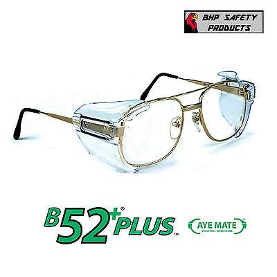 B52 Side Shields For Rx Glasses Safety Eyewear Eye Protection Ansi Z87.1